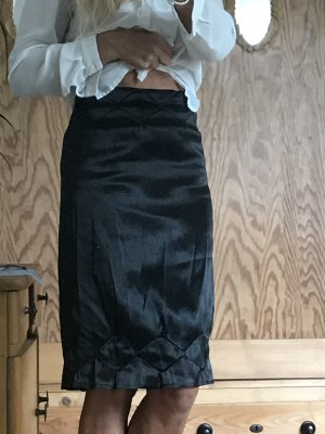 Jil  Sander Rock glänzend schwarz