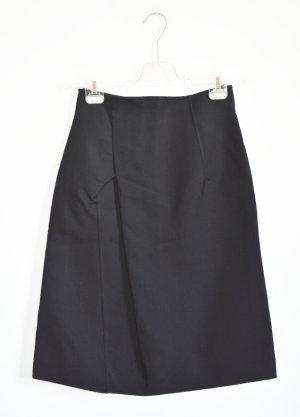 Jil Sander Jupe asymétrique noir coton