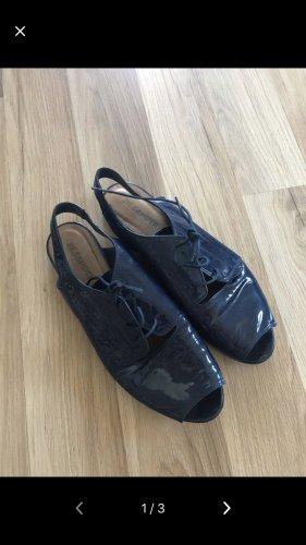 Jil Sander Comfortabele sandalen donkerblauw