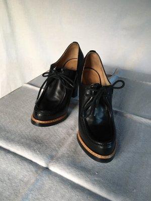 Jil Sander Chaussures à lacets noir