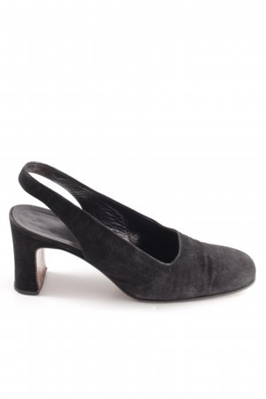 Jil Sander Slingback-Pumps schwarz Business-Look