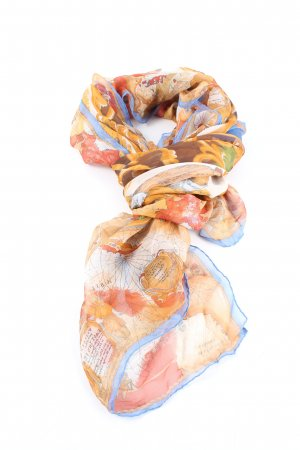 Jil Sander Summer Scarf abstract pattern casual look