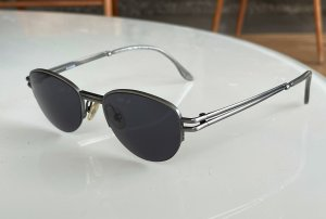 Jil Sander Retro Glasses silver-colored metal