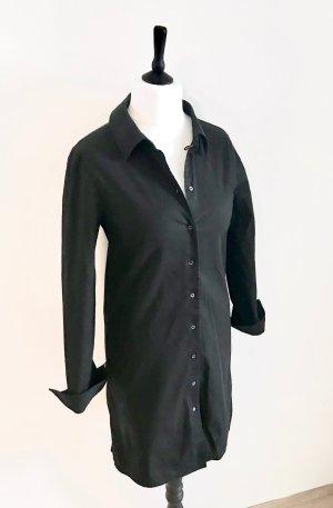 Jil Sander Vestido tipo blusón negro Algodón