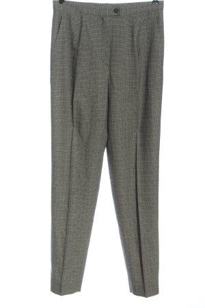 Jil Sander Pantalone jersey nero-bianco motivo a quadri stile professionale