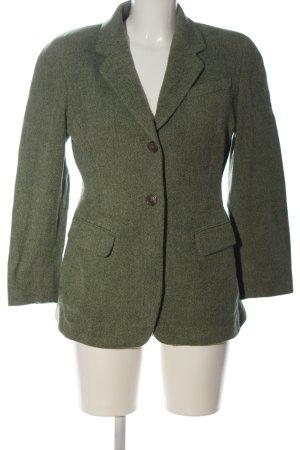 Jil Sander Tweed blazer khaki zakelijke stijl