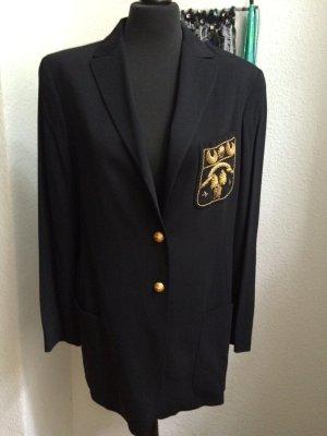 JIL SANDER Vintage Blazer mit Golddraht Stickerei