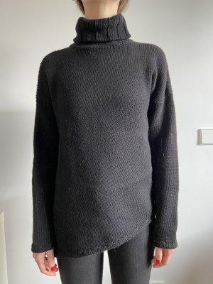 Jil Sander Maglione di lana nero