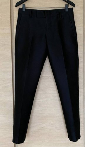 Jil Sander Pantalón de cintura alta negro
