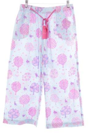 Jim Thompson Pantalone culotte stampa integrale stile casual