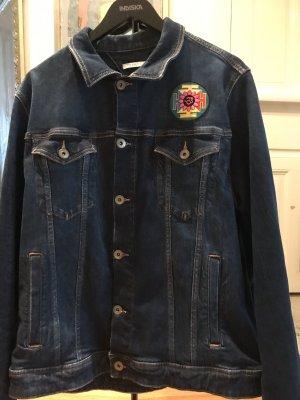 American Vintage Veste en jean multicolore