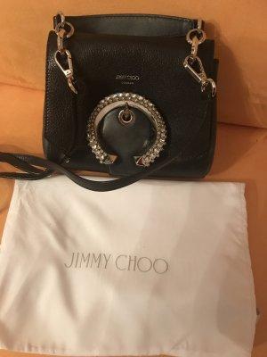 Jimmy Choo Minitasje zwart Leer