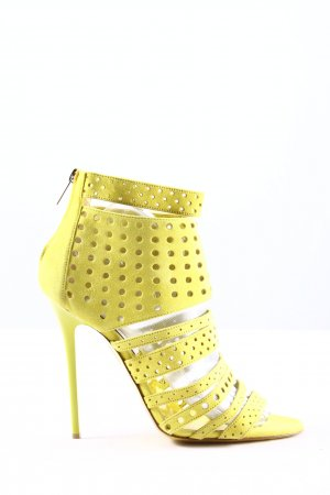 Jimmy Choo High Heel Sandaletten blassgelb Business-Look