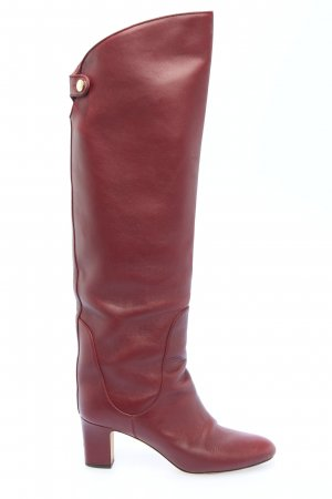 Jimmy Choo Absatz Stiefel rot Casual-Look