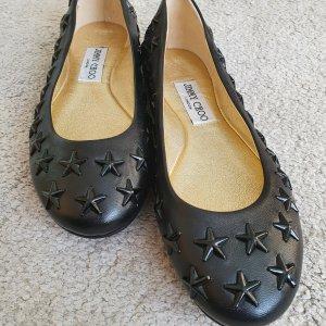 Jimmy Choo Ballerina Schuhe schwarz Größe 36,5