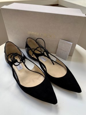 Jimmy Choo Ballerinas Black