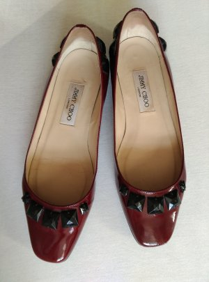Jimmy Choo Patent Leather Ballerinas multicolored leather