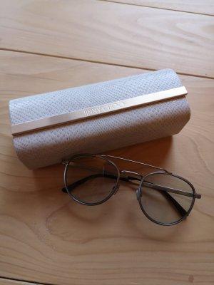 Jimmy Choo Glasses silver-colored metal