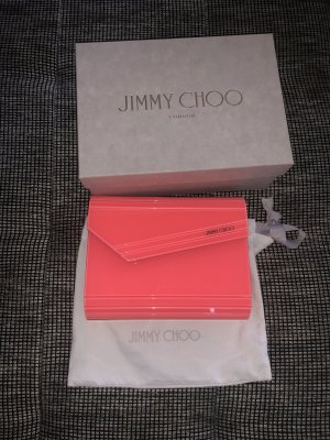 Jimmy Choo Candy Clutch pink