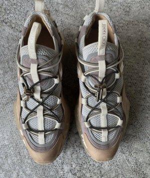 Jimmy Choo Diamond Trail Sneaker blogger nude