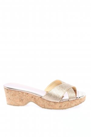 Jimmy Choo Sandalias Dianette color oro look casual
