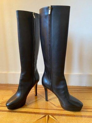 Jimmy Choo Platform Boots black leather