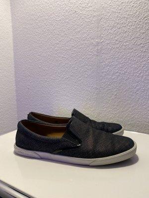 Jimmy Choo Sneaker slip-on blu scuro