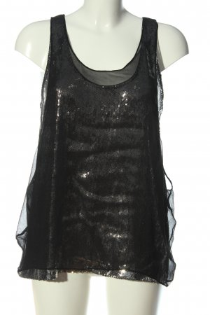 Jimmy Choo for H&M Sleeveless Blouse black elegant