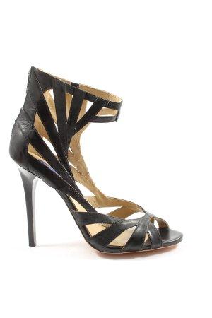 Jimmy Choo for H&M Hoge hakken sandalen zwart casual uitstraling