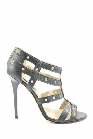 Jimmy Choo for H&M High Heel Sandaletten schwarz Casual-Look