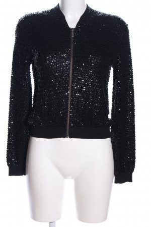 Jimmy Choo for H&M Kurzjacke schwarz Glanz-Optik