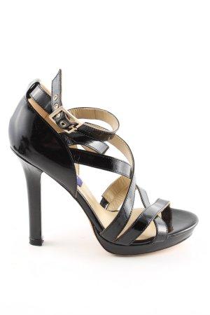 Jimmy Choo for H&M Strapped pumps black elegant