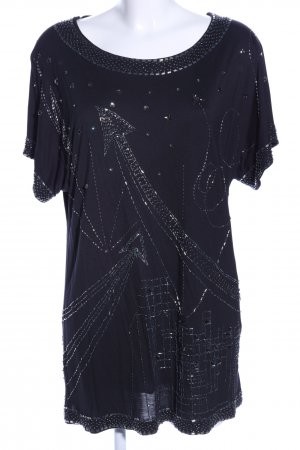Jimmy Choo for H&M T-Shirt schwarz Casual-Look