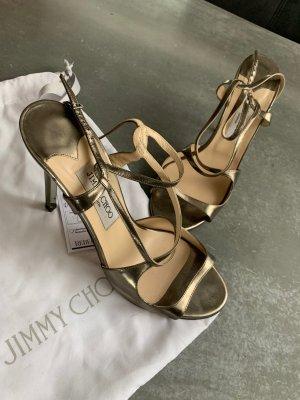 Jimmy Choo High Heel Sandal gold-colored