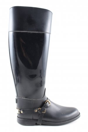 Jimmy Choo Wellies black casual look