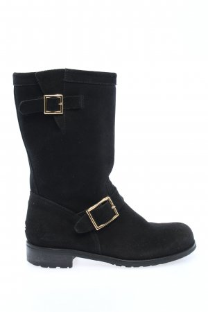 Jimmy Choo Buskins black casual look