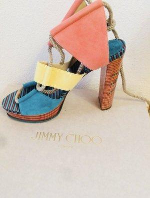 Jimmy Choo Halley Color-Block Sandal