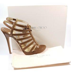 Jimmy Choo Platform Sandals brown