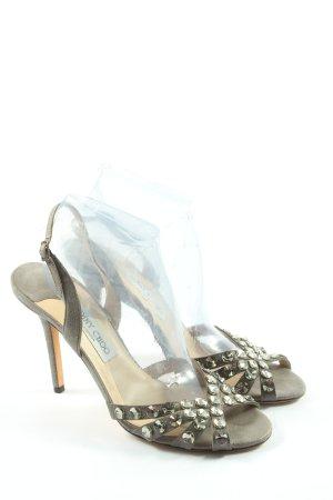 Jimmy Choo High Heel Sandal light grey elegant