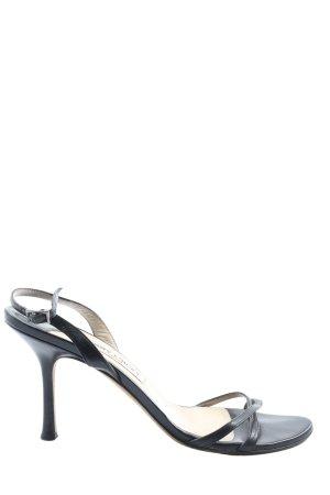 Jimmy Choo High Heel Sandaletten schwarz Casual-Look