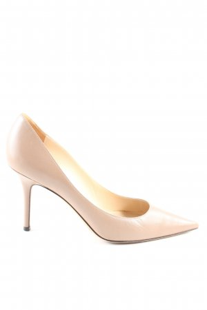 Jimmy Choo High Heels creme Business-Look
