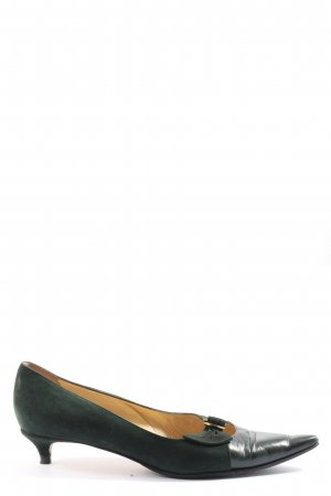 Jimmy Choo High-Front Pumps green-black casual look