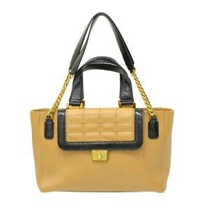 Jimmy Choo Leather Chain Crossbody Bag