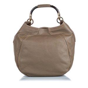 Jimmy Choo Leather Hobo Bag