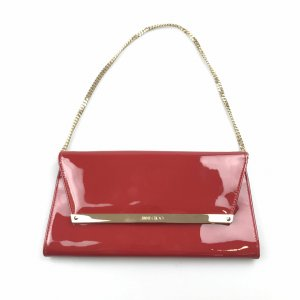 Jimmy Choo Patent Leather Clutch Bag