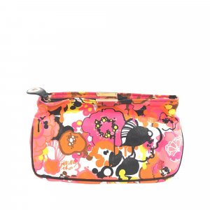 Jimmy Choo Printed Canvas Zulu Clutch