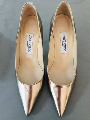 JIMMY CHOO Pumps gold MUST HAVE 37,5
