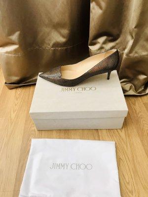 Jimmy Choo Stiletto bronze