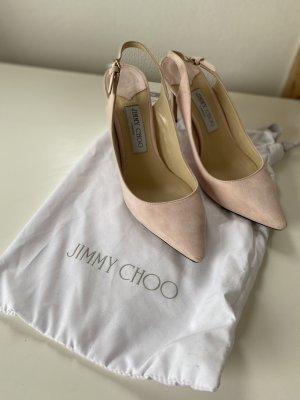 Jimmy Choo High Heel Sandal dusky pink-pink