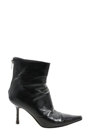 Jimmy Choo Reißverschluss-Stiefeletten schwarz Casual-Look